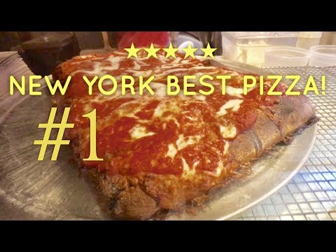 Best Pizza New York: Scarr's Pizza Sicilian Pizza Orchard Street Lower East Side
