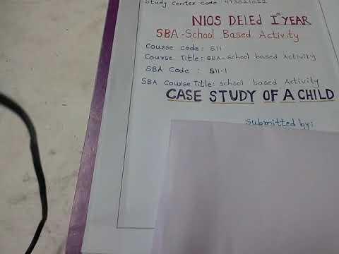 Case study 511 in hindi – Professor Assignment