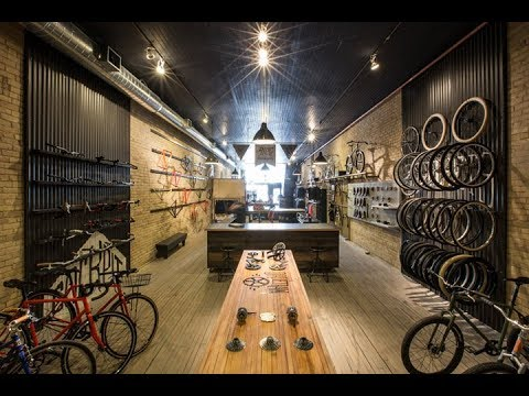 Bike Shop Design - Bicycle Bathing Booth