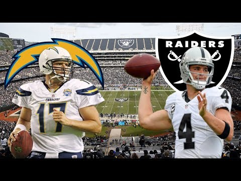 LA Chargers Vs Oakland Raiders Play By Play & Reaction