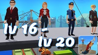 Swing Rider Level 16-20 Walkthrough