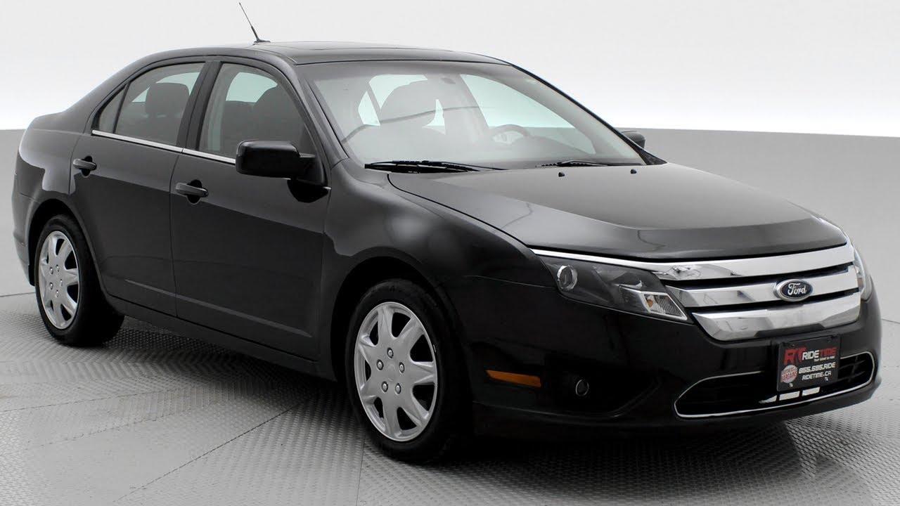 2011 ford fusion se automatic low mileage sunroof ridetime ca
