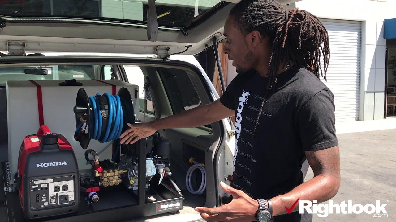 Micro Auto Detailing Skid Mount Unit Youtube