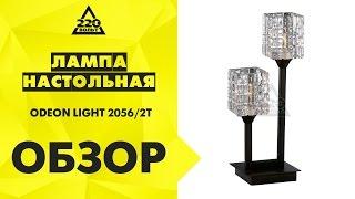 Обзор Лампа настольная ODEON LIGHT 2056/2T