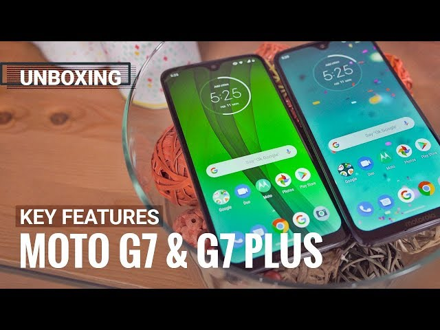 Motorola Moto G7 and Moto G7 Plus in for review - GSMArena