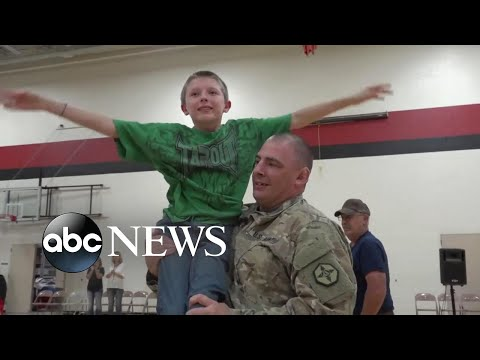 Todd - An Emotional All American Homecoming Surprises Son