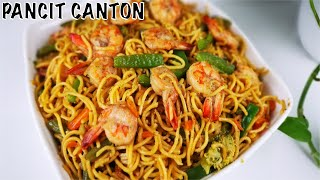 PANCIT CANTON || Chinese Noodles Recipe ll How to cook Pancit Canton