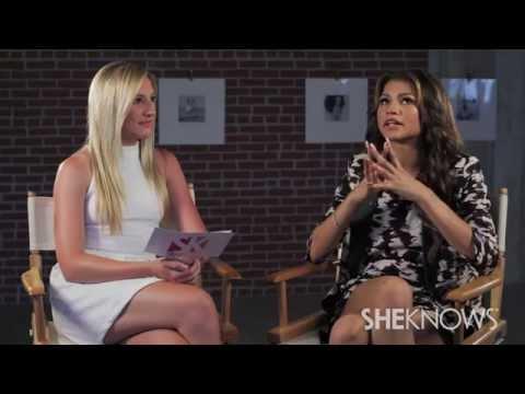 Zendaya Talks About Aaliyah Biography - Celebrity Interview