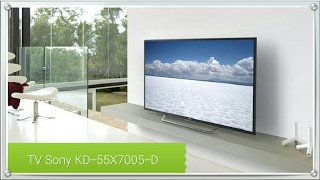 Unboxing da TV Sony Bravia KD-55X7005D (Androidtv)