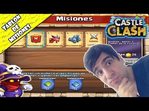 EL TABLÓN DE MISIONES | Castle Clash - Juma