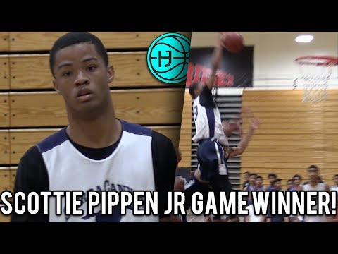 Scottie Pippen Jr Has ICE IN HIS VEINS!! Hits Game Winning Shot in OT! Cassius Stanley Nasty Poster?