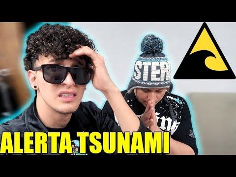 VIVIMOS UNA ALERTA DE TSUNAMI *California* (HotSpanish Vlogs)