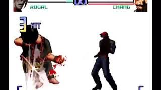 My favorite game is KOF I always training KOF.