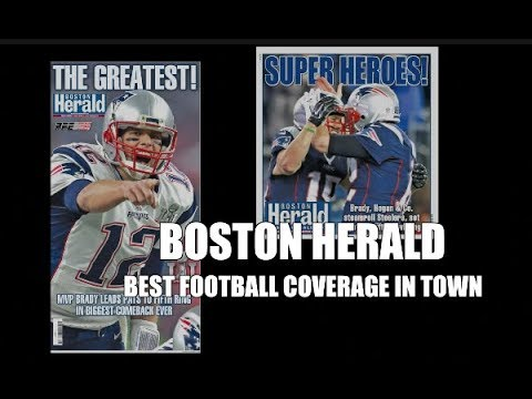 Boston Herald...Best Footbal Coverage in Town