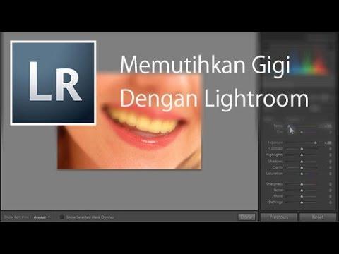 Cara Lain Memutihkan Gigi Menggunakan Lightroom Youtube