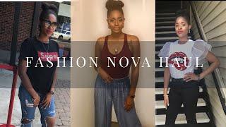 So, I'm a #NovaBabe now!? | Fashoin Nova Haul & Try on