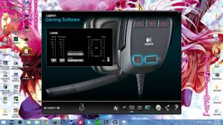 Logitech G35 Microphone Test and Review