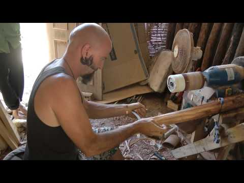 Making A Didgeridoo With Adam