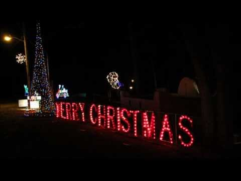 Christmas City Walkway Of Lights In Marion Indiana