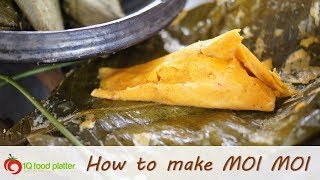 How to make Moi Moi (in leaves) - 1QFoodplatter