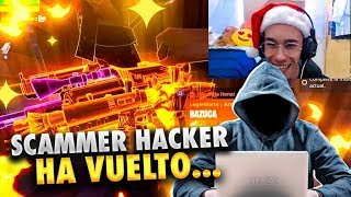 👨🏻 💻 The SCAMER *HACKER* ⚠️ IS BACK AND THE *LIA MUCH*🔥* Fortnite Save the World