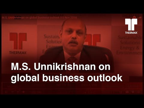 Bloomberg Quint #Q2 with M.S. Unnikrishnan, MD & CEO, Thermax on 15 Nov 2018