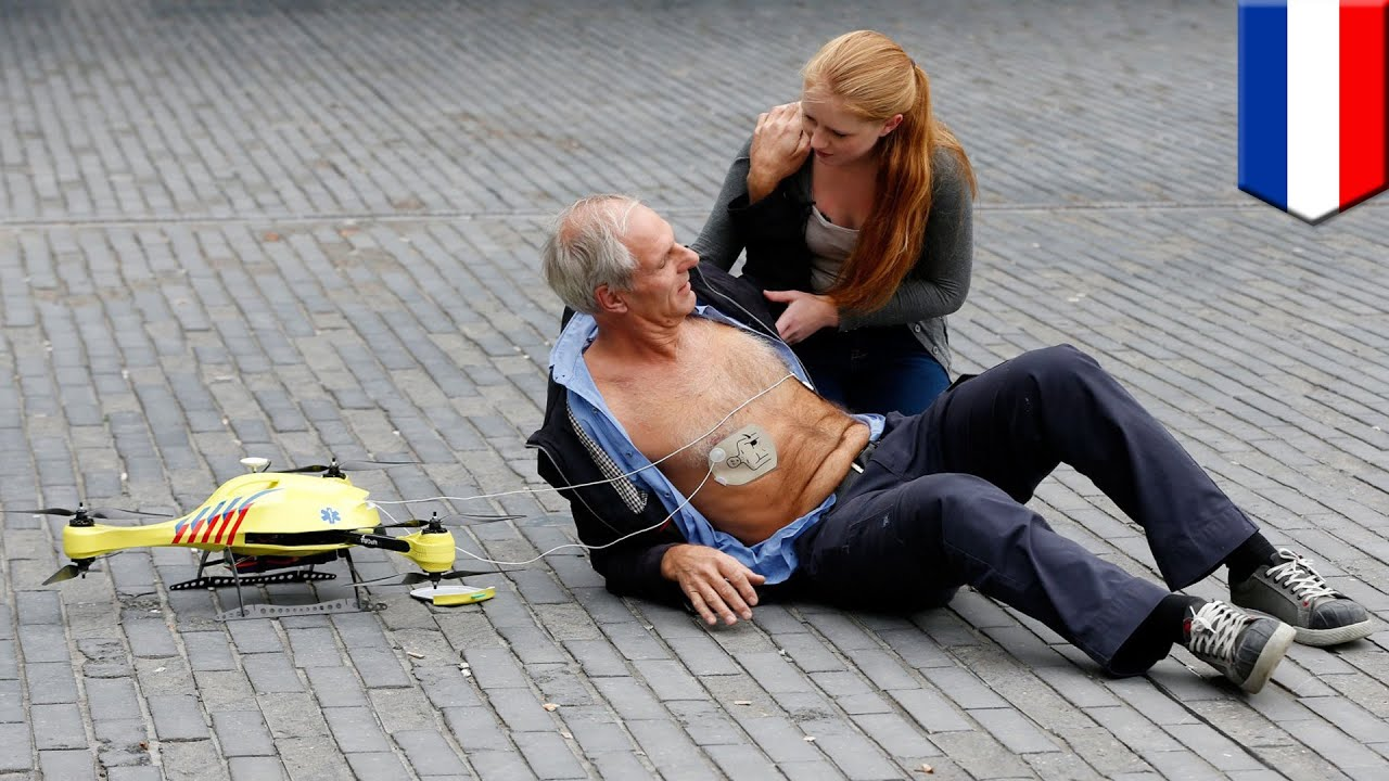 Ambulance Drone A Flying Defibrillator That Can Save Hundreds Of People Having Heart Attack