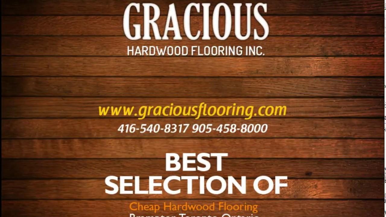 Gracious Hardwood Flooring In Brampton Toronto Ontario