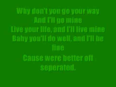 Usher- Seperated with Lyrics