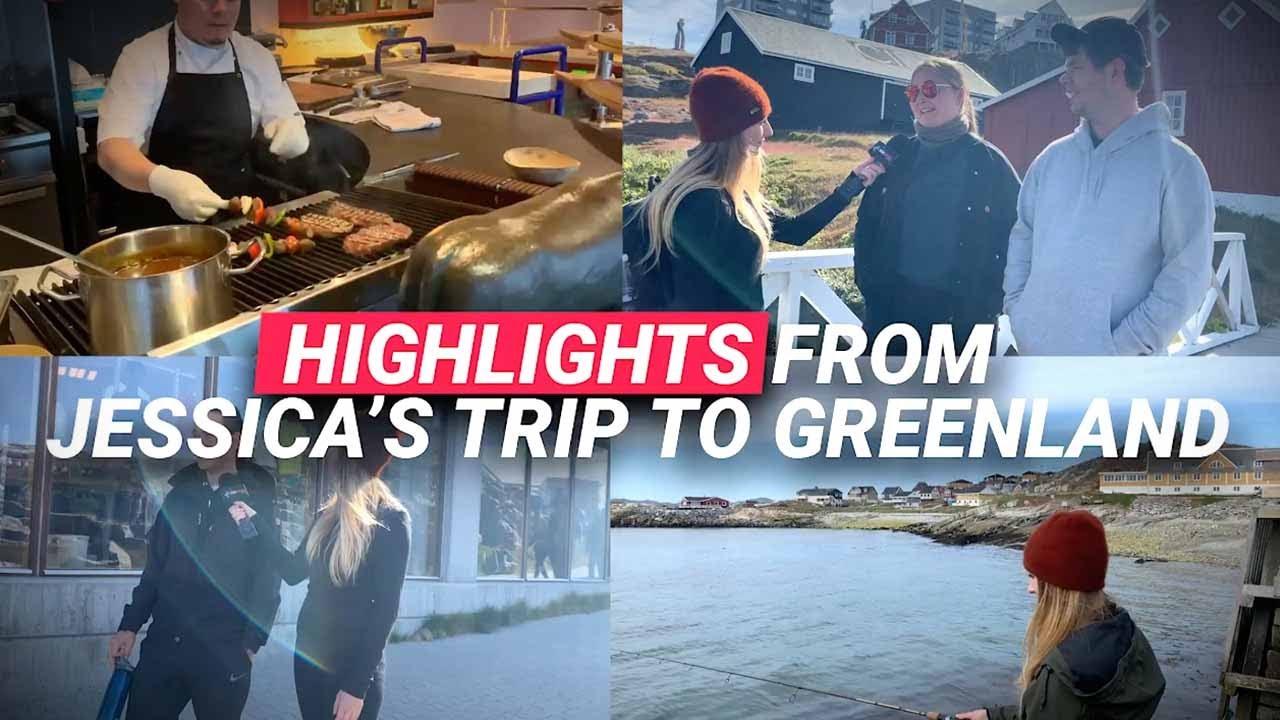 Best moments from Jessica in Greenland | Jessica Swietoniowski