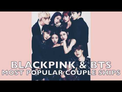 BLACKPINK X BTS COUPLES💞{JINSOO,JROSE AND MORE}
