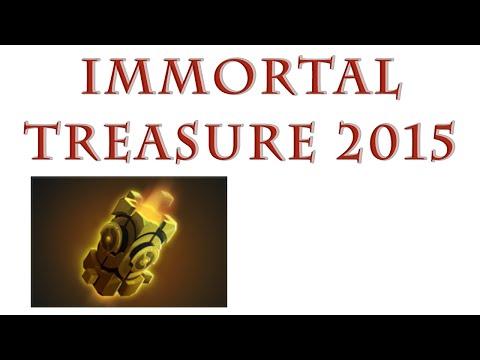 видео: Открытие сундуков immortal treasure 2015 в dota 2