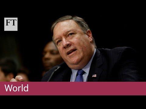 Mike Pompeo testifies at US Senate over Trump-Putin summit