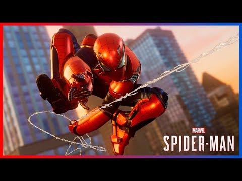 Marvel's Spiderman Armadura de Aaron Aikman Free Roam DLC Silver Lining - 동영상