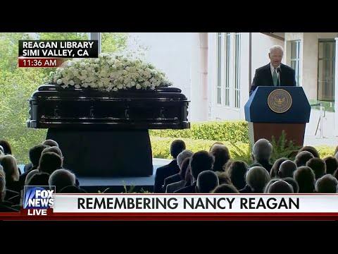 • James Baker eulogy for Nancy Davis Reagan • 3/11/16 •