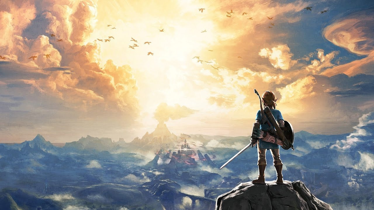 zelda wallpaper engine video - youtube