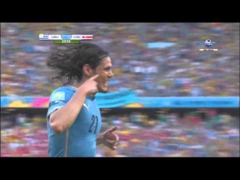 Uruguay vs Costa Rica 1-3 Grupo D Mundial 2014 SKY