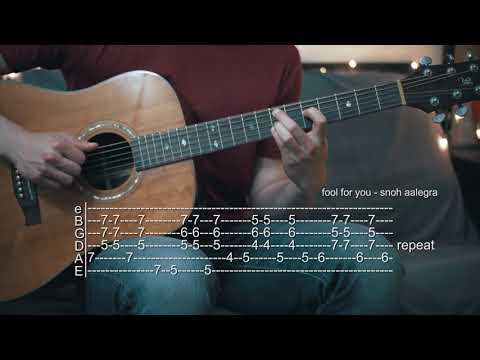 How To Play Fool For You - Snoh Aalegra - Guitar Tabs