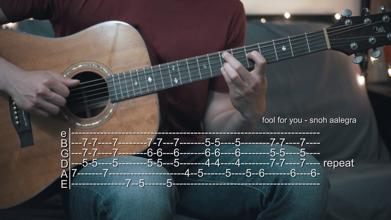 Snoh Aalegra Guitar Tabs