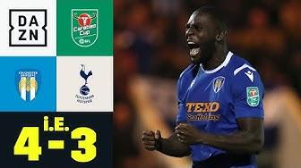 Pokal-Sensation! Colchester haut Spurs raus: Colchester - Tottenham 4:3 i.E.| Carabao Cup | DAZN