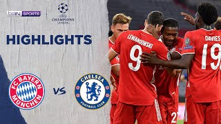 拜仁慕尼黑 4:1 車路士 | Champions League 19/20 Match Highlights HK