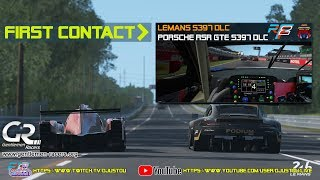 rFactor 2 - LeMans S397 DLC - First Contact - Day/Night/Day cycle - Oculus VR