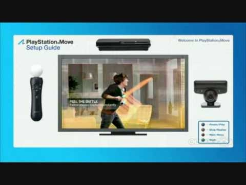playstation move setup tutorial youtube rh youtube com ps3 move setup instructions Xbox Gaming Setup