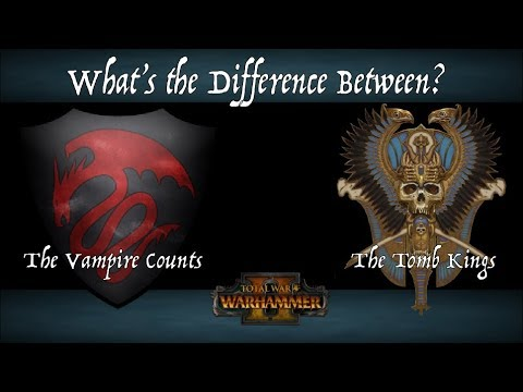 The Three Main Differences Between the Tomb Kings & the Vampire Counts - Total War: WARHAMMER II |