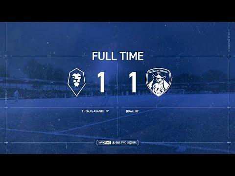HIGLIGHTS: Salford City 1-1 Oldham Athletic