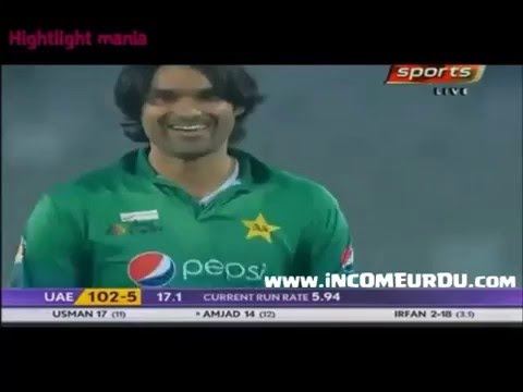 Muhammad Irfan Funny Video against UAE AsiaCup 2016