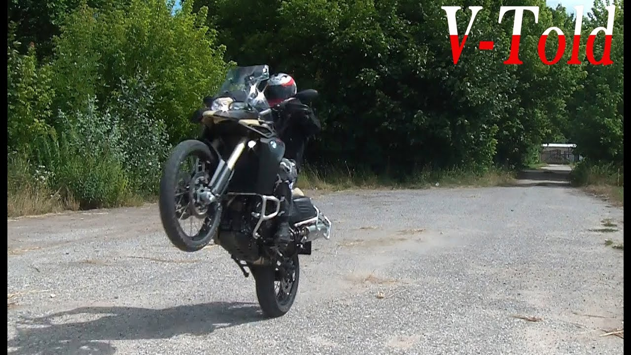 new bmw f800gs adventure riding exhaust sound youtube. Black Bedroom Furniture Sets. Home Design Ideas
