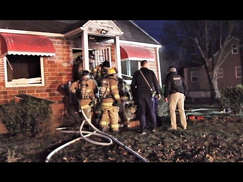Caught on camera: 2 rescued at Prince George's County, MD house fire