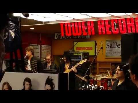 140420 Dirty Loops  TOWER RECORDS Shibuya Rehearsal SAYONARA LOVE