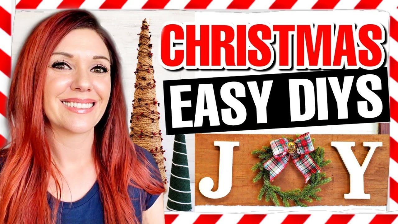 5 SUPER CHEAP & EASY DIY Christmas Decoration Ideas 2020 🎄